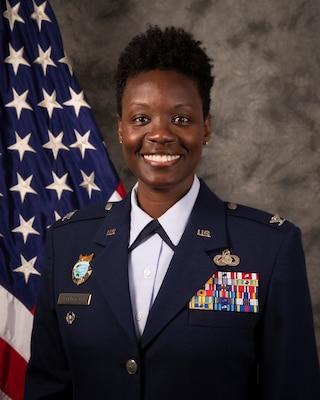Colonel Angenene L. Robertson, U.S. Air Force