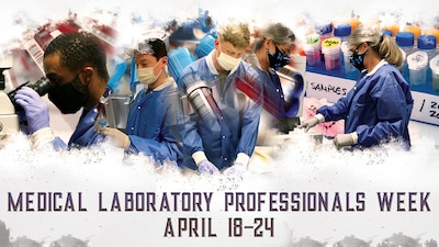 U.S. Army Medical Department Activity-Fort Stewart and Hunter Army Airfield celebrates National Medical Laboratory Professional Week April 18-24 and salutes our lab staff who play an important role in healthcare.
