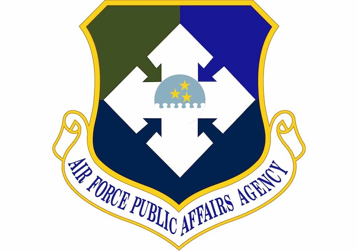 AFPAA emblem with link to  Air Force Public Affairs Agency