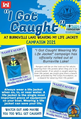 """""""I Got Caught"""" Water Safety Campaign"""