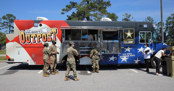 What do you do when Soldiers won't go to the dining facility? You bring the dining facility to them.
