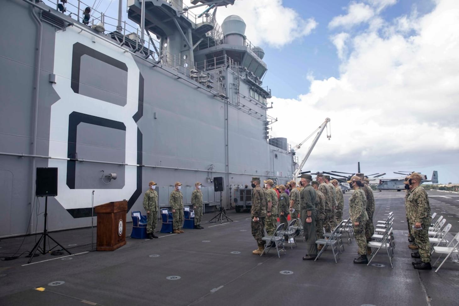 USS Making Island (LHD 8)