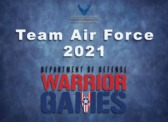 The Air Force Wounded Warrior Program is proud to announce the 2021 Air Force Warrior Games team. A team of coaches and staff selected 45 primary and 15 alternates; a combination of active duty, Guard and Reserve Airmen and veterans, after their 2021 Virtual Air Force Trials competition. The 45-person team will go on to compete at the Department of Defense Warrior Games in Tampa, Florida, Sept 12-22, 2021.