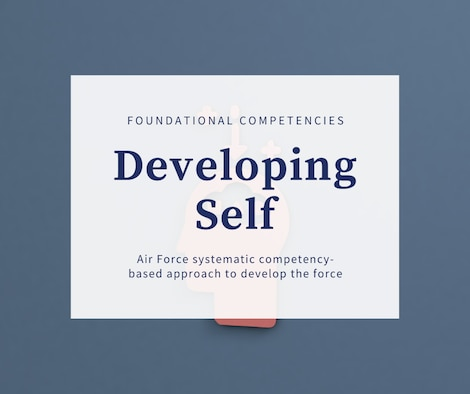 Graphic highlighting Developing Self  foundational competencies