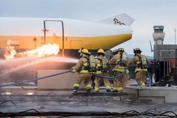 167th firefighters train to save lives, rescue local man