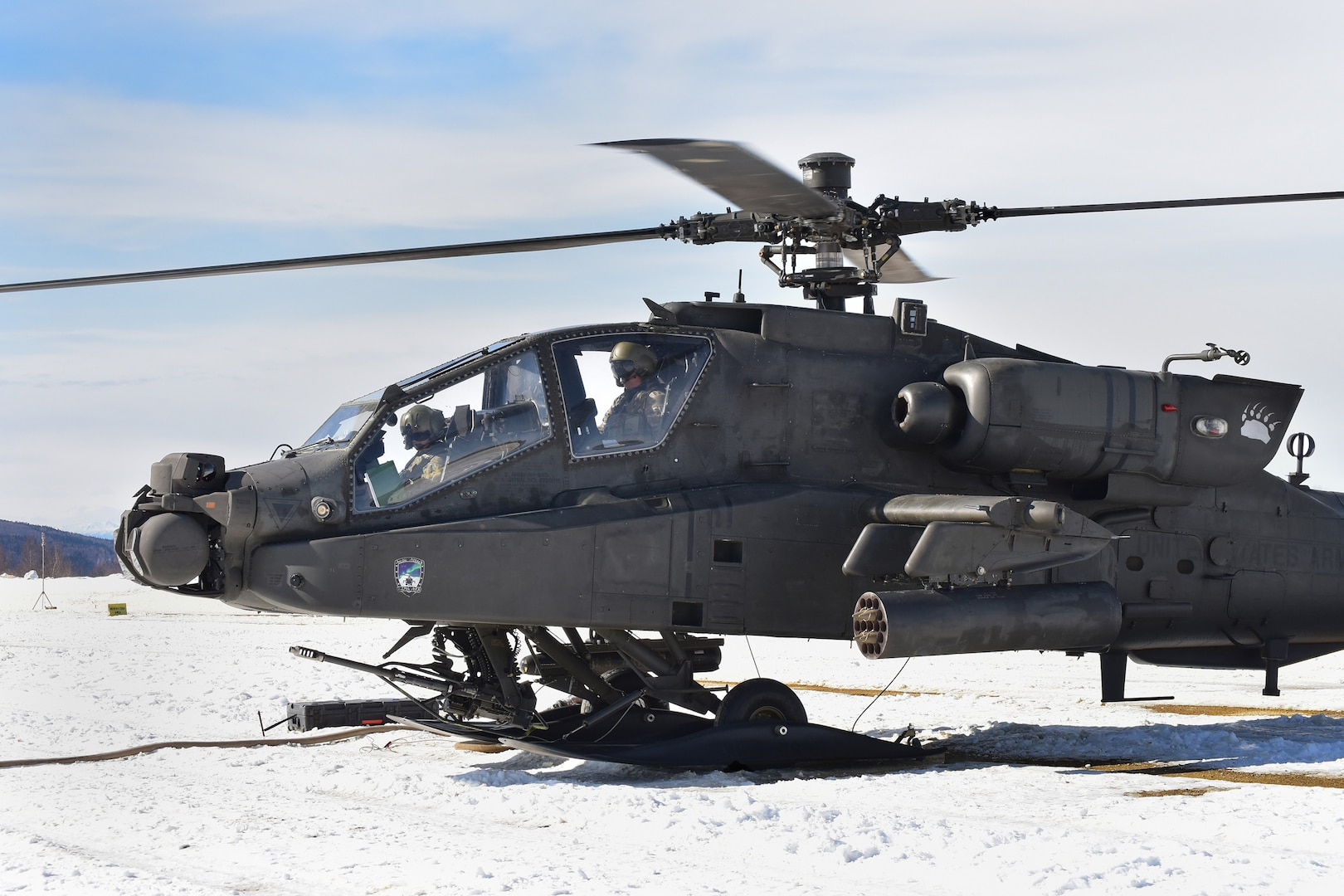 1-25th ARB welcomes spring with aerial gunnery range