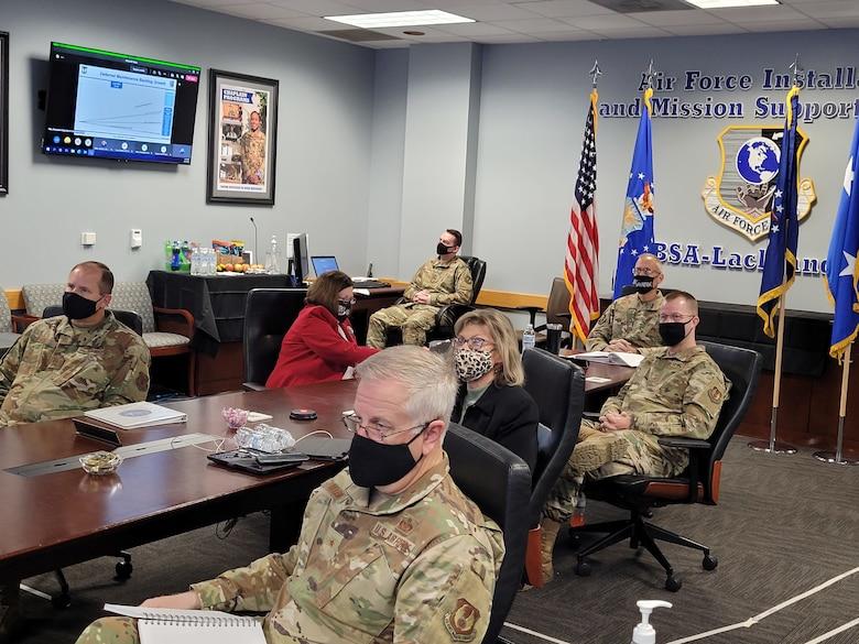 Air Force senior leaders at 2021 I-WEPTAC