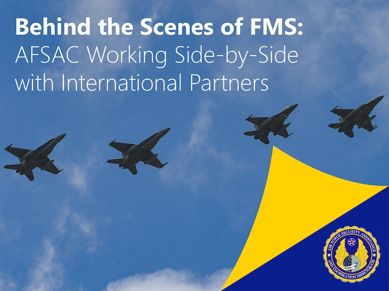 AFSAC Behind the Scenes Graphic (U.S. Air Force graphic by Jonathan Tharp, AFSAC).