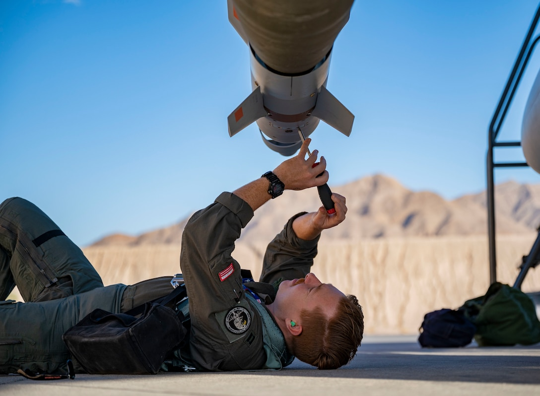 121st Fighter Squadron supports Green Flag 21-06 at Nellis AFB