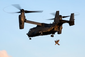 321st Special Tactics Squadron Fast Rope Training