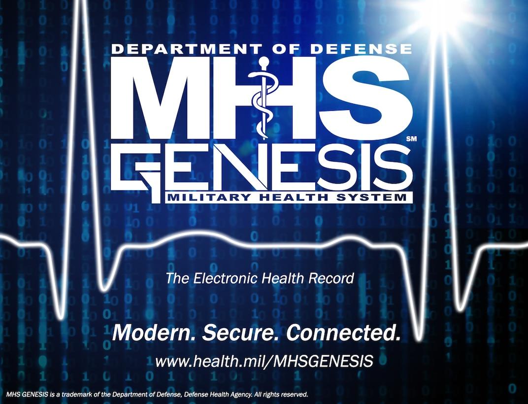 MHS GENESIS courtesy graphic