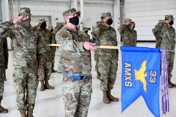 33rd AMXS welcomes new commander