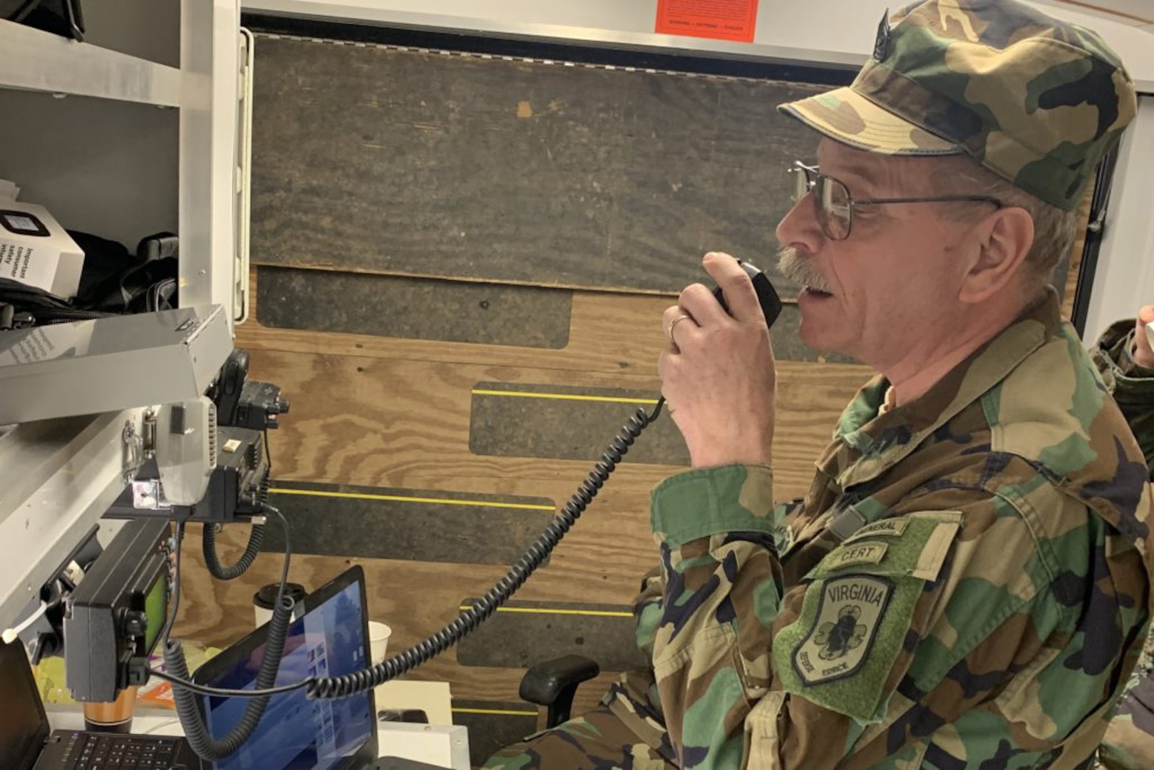 VDF takes part in statewide amateur radio exercise