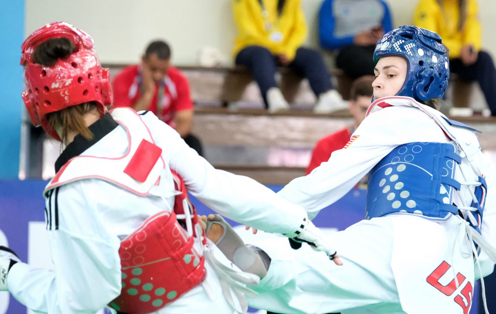 VNG Soldier competes in World Military Taekwondo Championship