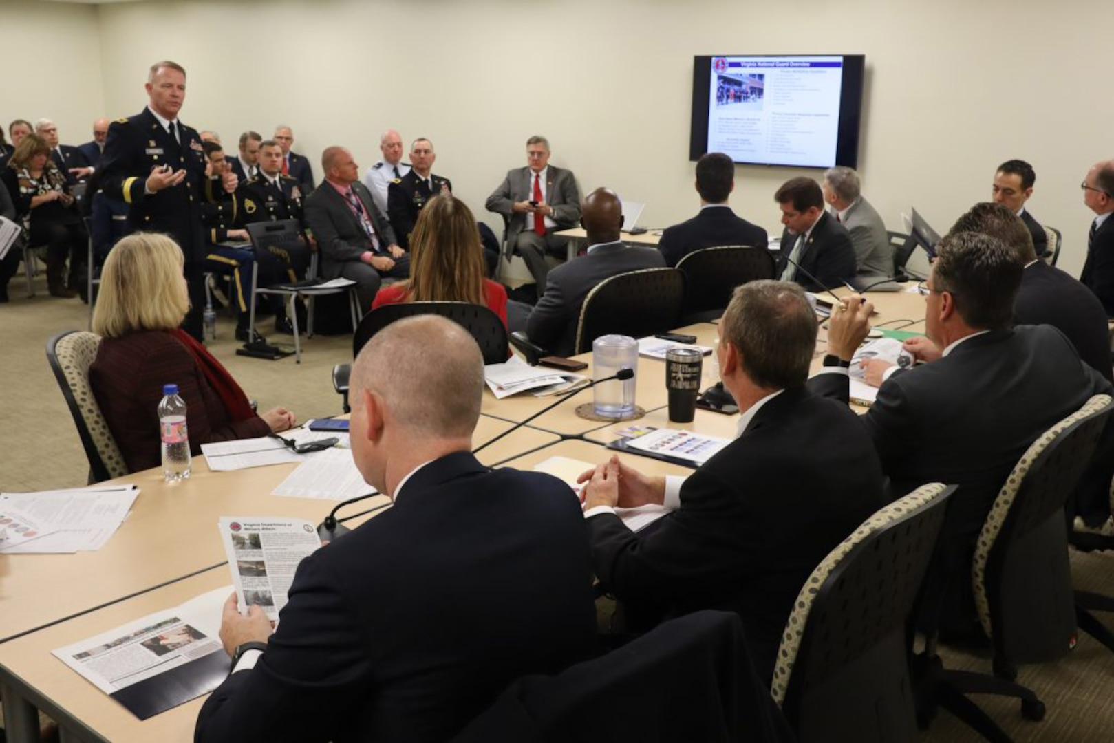 AG shares legislative priorities with JLC, GA Military Caucus