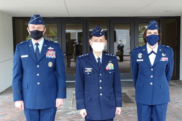 Japan Air Self-Defense Force chief of staff visits Vandenberg Air Force Base
