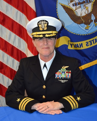 EGLIN AIR FORCE BASE, Fla. (April 25, 2021) Official portrait of Cmdr. Tammy Shipman (U.S. Navy photo)