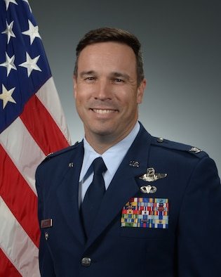 U.S. Air Force Official photo of Col. John Lesho.