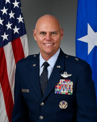 U.S. Air Force official photo of Brig. Gen. Richard L. Kemble.