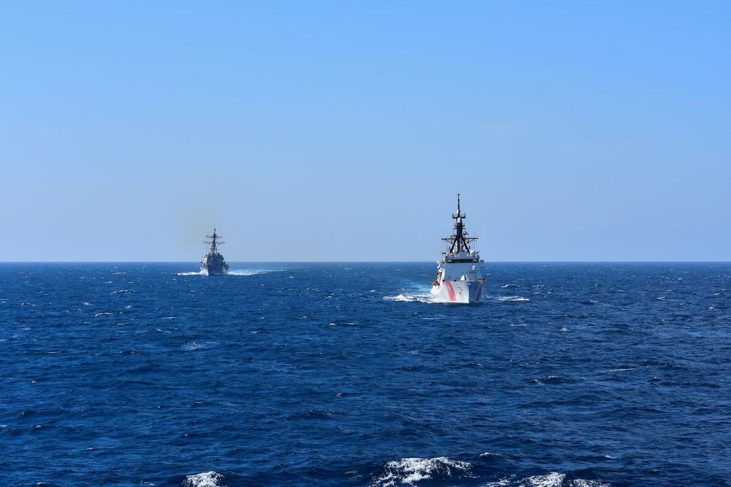 VBSS with U.S. Navy