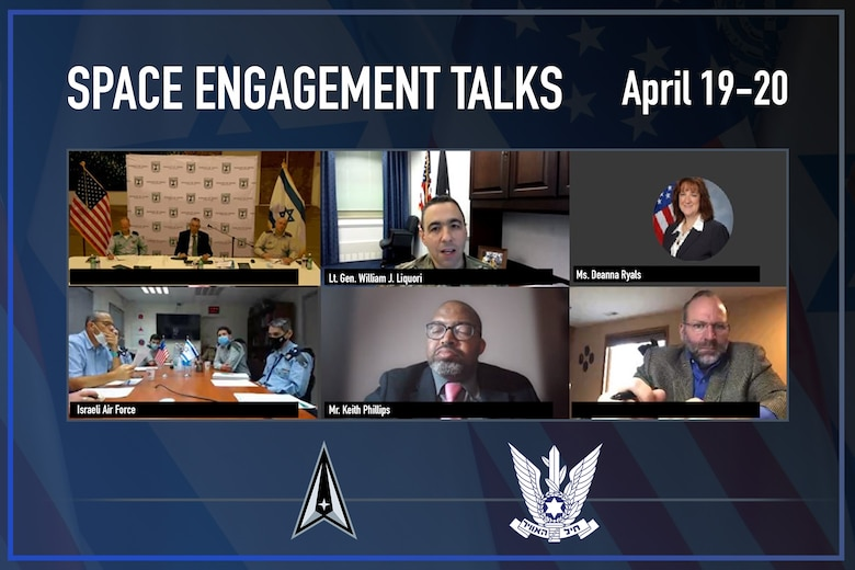 The U.S. Space Force hosted its first Space Engagement Talks (SET) with the Israeli Air Force during separate virtual sessions April 19-20.