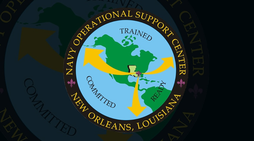 NOSC New Orleans Banner Graphic (U.S. Navy graphic by Mass Communication Specialist 1st Class Arthurgwain L. Marquez)