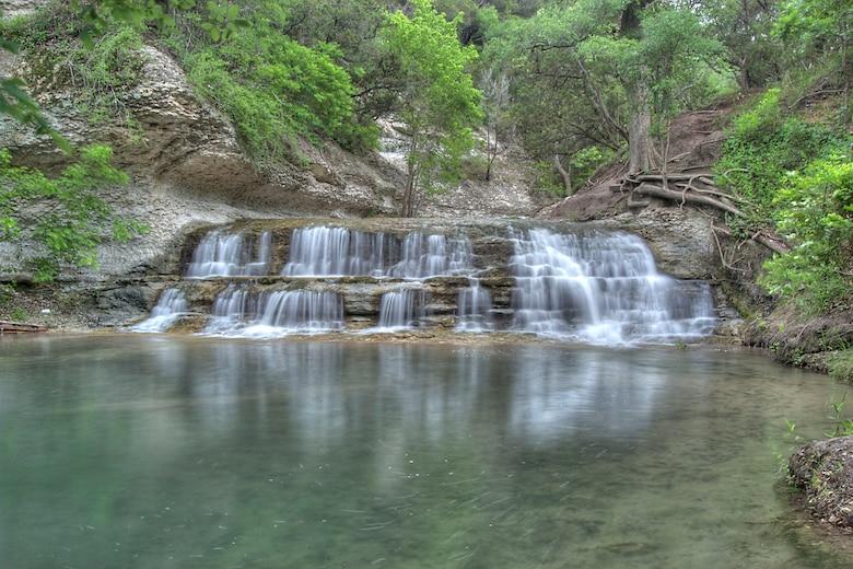 Chalk Ridge Falls at Stillhouse Hollow Lake