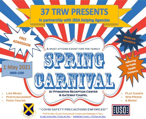 37 TRW presents the 2021 Spring Carnival