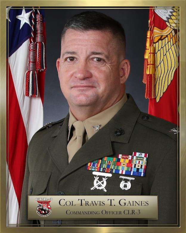 Col Gaines Bio Photo