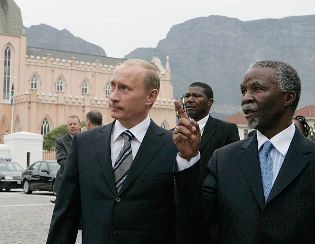 Putin, South Africa