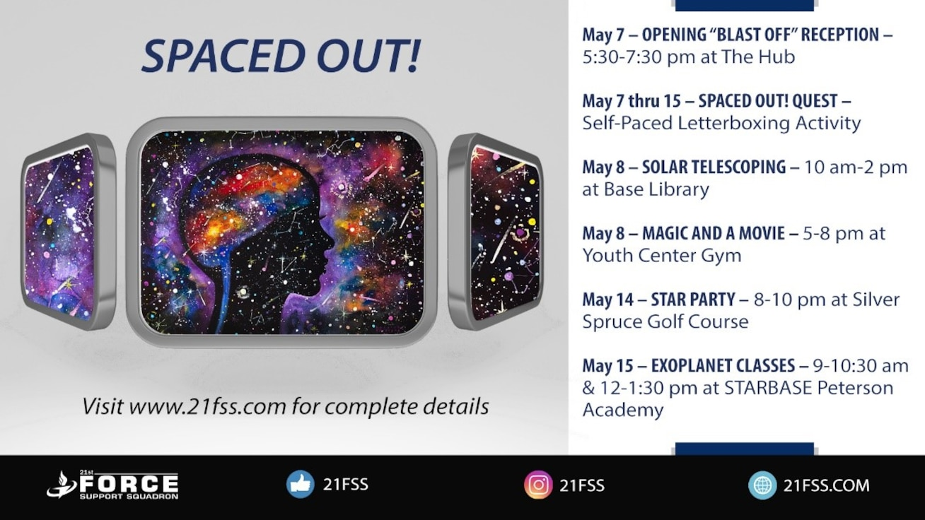 Spaced out event details