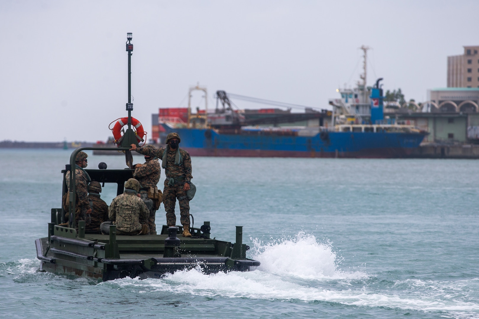 9th Engineer Support Battalion practices EABO concepts & Naval integration