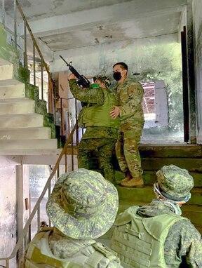 U.S. Army 5th SFAB and Philippine Army Conduct Bilateral Training in Nueva Ecija