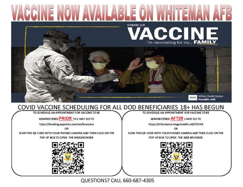 A flyer for COVID-19 Vaccines