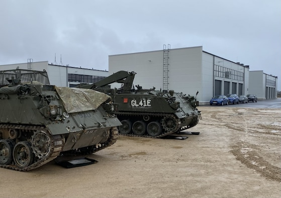 U.S. Soldiers in Estonia for DEFENDER-Europe 21 receive quality life support