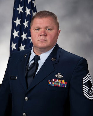 Chief Master Sgt. Christopher Kerstetter, 436th Maintenance Squadron superintendent official photo.