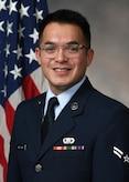Official Bio Photo for A1C Christopher Arellano