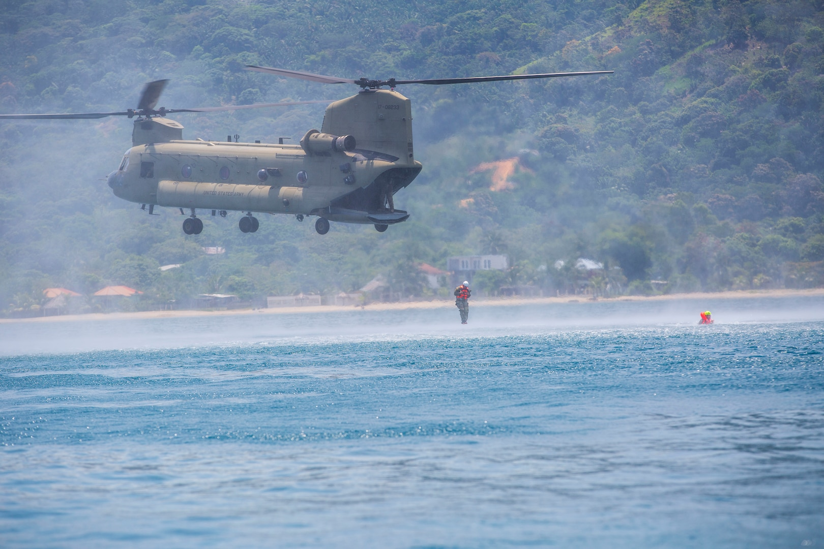 JTF-Bravo conducts overwater survival training in Colon, Honduras