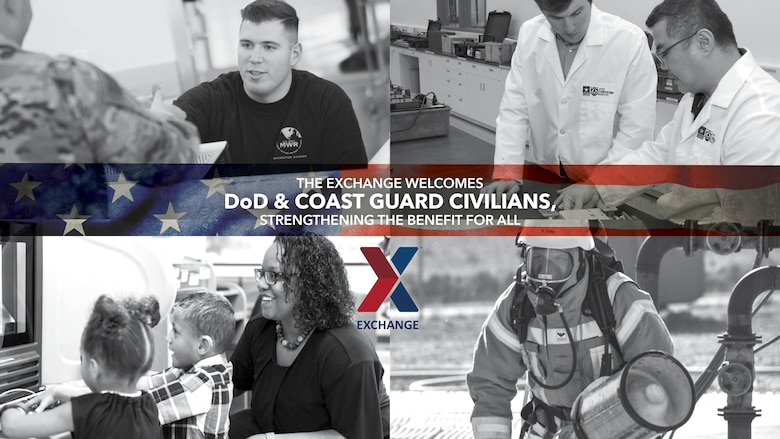 Starting May 1, Department of Defense and Coast Guard civilian employees can shop in store with the Army & Air Force Exchange Service at Edwards AFB. The expanded access benefits all who serve—past, present and future.