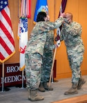 Brooke Army Medical Center relinquishment of command ceremony April 29.