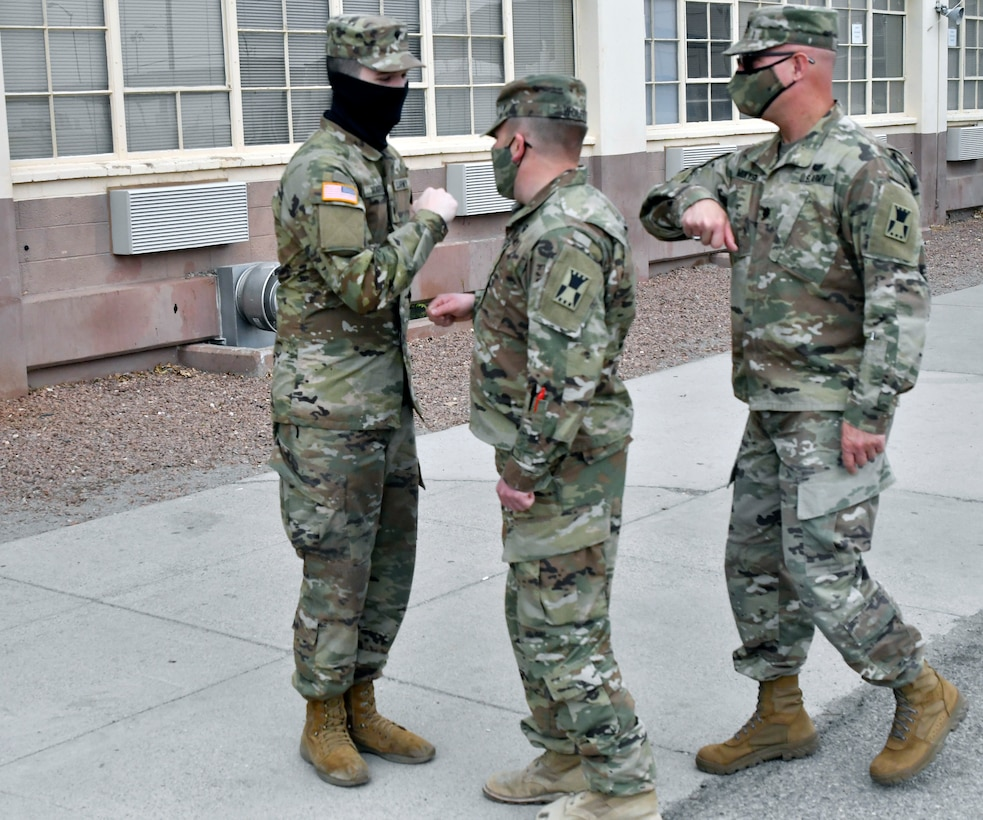 Winfield, Kansas, native and 647th Regional Support Group (Forward) Soldier advances to specialist