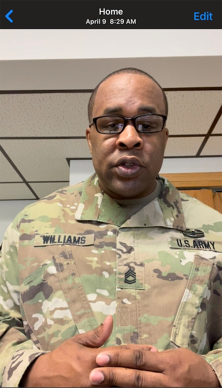Army Reserve Soldier provides career day motivation