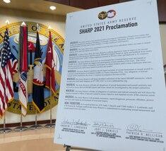 SHARP Proclamation