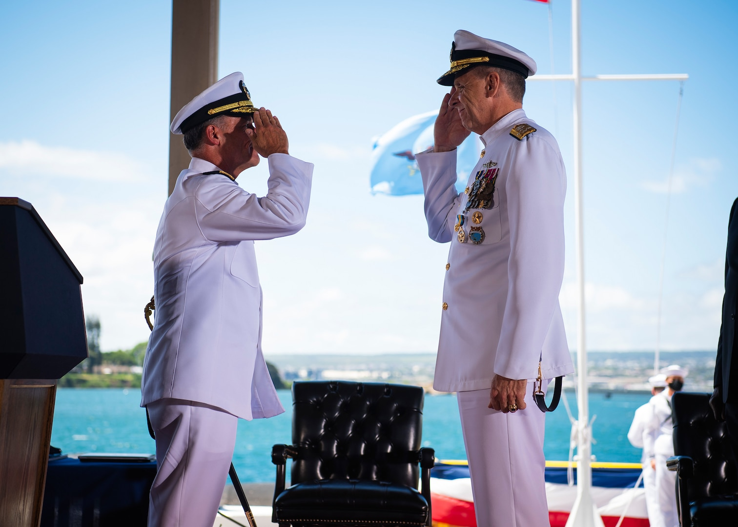 U.S. Indo-Pacific Command Change of Command