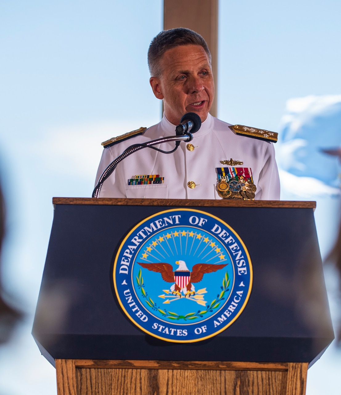 INDOPACOM Change of Command Ceremony
