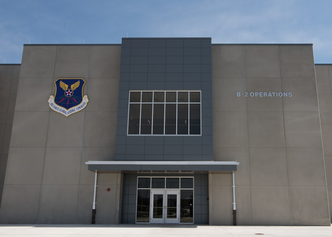 The deadliest building on the planet: B-2 Combined Operations Building opens at Whiteman Air Force Base