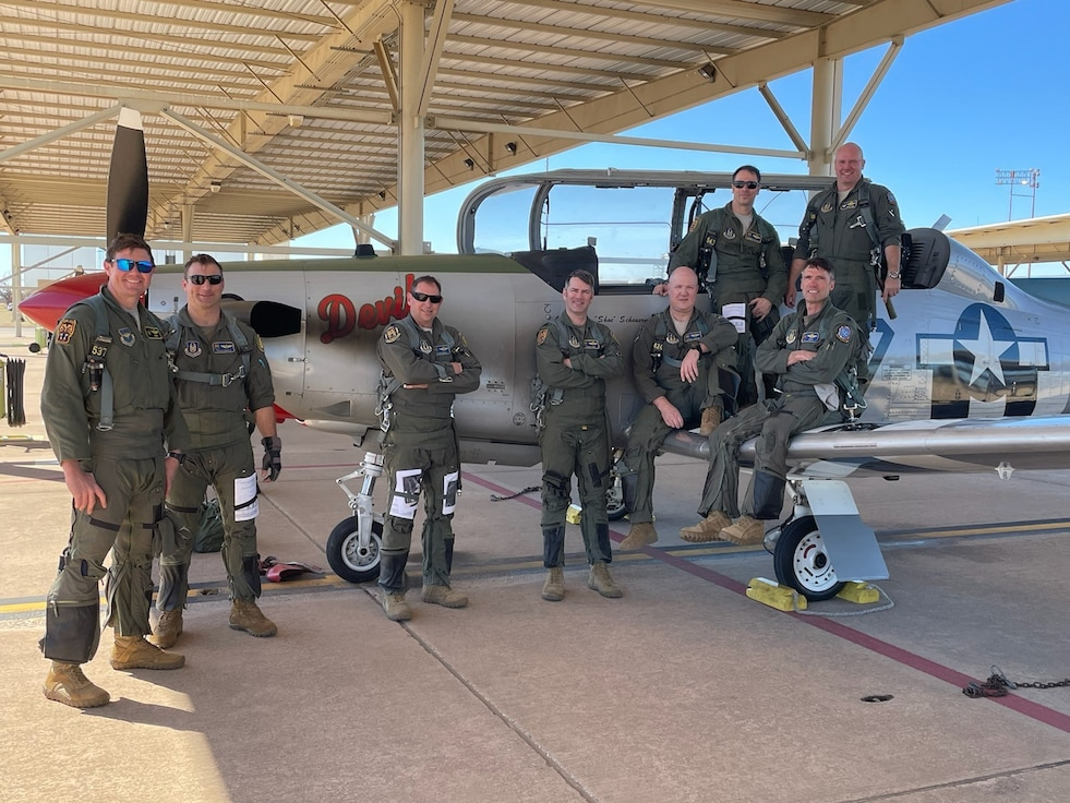 DevilCats fly missing man mission