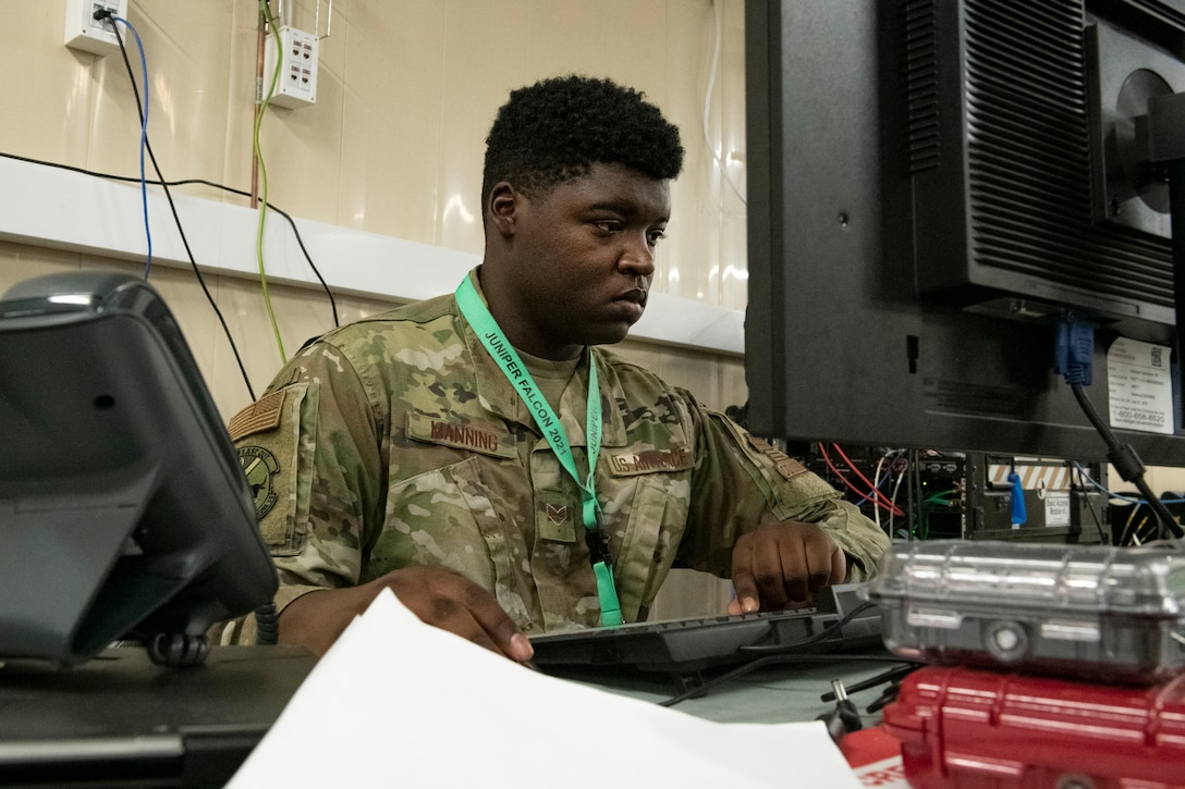 Communications Airmen keep JF21-2 connected