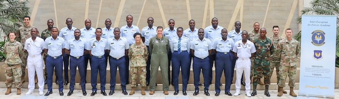 Ghanaian Armed Forces graduates 20 members from Professional Military Education