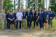 Team USA poses for a picture after the the closing ceremony in Lahti, Finland on August 1st. This team was composed of reserve service members from three nations, Finland, Denmark and the United States of America. The CIOR MILCOMP is an annual competition among NATO and Partnership for Peace nations. This competition test reserve service members from allied nations on several core disciplines in teams of three.